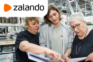 Сотрудники на склад интернет - магазину Zalando