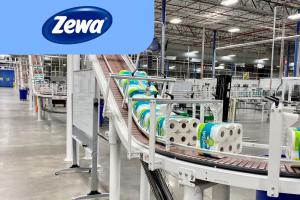 Работа на фабрике салфеток Zewa