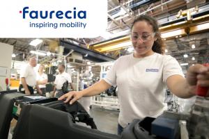 Рабочий на автозавод Faurecia