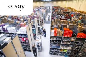 Упаковщик на склад новой одежды Orsay
