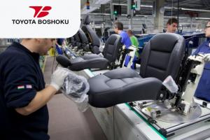 Рабочий на автомобильный завод Toyota
