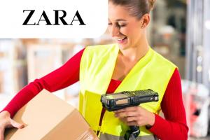 Упаковщик на склад брендовой одежды Zara